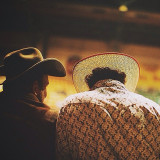 Just a couple #cowboys enjoying the heck outa a #rodeo #fortworth #texas #vscocam #vsco #latergram