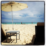 Playa del Carmen, the beach in November