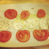 Italian tomatoes and cheese. #fun #instagramers #TagsForLikes #food #smile #pretty #followme #nature #lol #dog #hair #onedirection #sunset #swag #throwbackthursday #instagood #beach #statigram #friends #hot #funny #blue #life #art #instahub #photo #cool #pink #bestoftheday #clouds