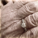 My grandma may not remember our names, where she is, or other subtle moments we take for granted. Still, everyday, first thing in the morning she puts on her wedding ring from my late grandfather. Love is never forgotten. <3-- this photo brings back so many memories. RIP Grandma 9/25/16