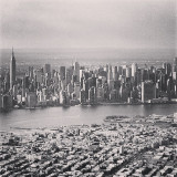 View of Manhattan from the Sky