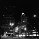 #Houston #Texas #downtown #city #buildings #architecture #citylights #night #time #streets #streetlight