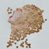 Boy made of cereal