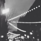 Out of focus city scene