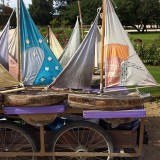 I love this favorite French pastimes, pushing these handcrafted boats around the fountains in the Tuileries Garden in Paris!