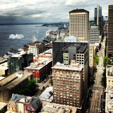 can u see the space needle?  #city #seattle #wa #view from #smith #tower #northwest #pier #도시 #씨에틀 #home #skyline #전망 #하루여행