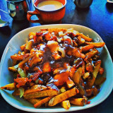 The deluxe poutine available at Brooklyn Local on Michigan and Brooklyn in Detroit.