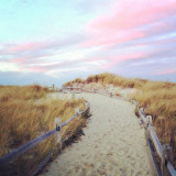 Pastel Beach Path, Crosby's Landing, Brewster, Cape Cod, Massachusetts