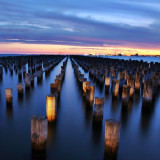 Had fun with long exposure at Princes Pier, South Melbourne.