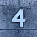 Four. Numeral.