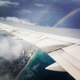 iPhonephotography ( 5,000 ft above South Beach, Miami shoreline)