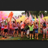 The Color Run 2013.  Color toss after the race.