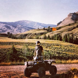 Wyoming, four-wheelin'