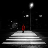 Red Man on the Crossing