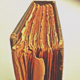 Weathered book