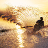 My good friend waterskiing last summer! This is now his FB profile pic, good to have a photographer as a friend!