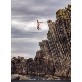Cliff Jumper, Action shot