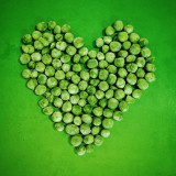 Brussels sprouts heart