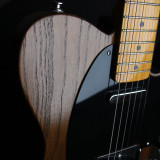 Telecaster style guitar I built from swamp ash body with maple neck.