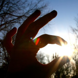 holding the sun :)