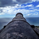 Cannon at Brimstone Fortress, St. Kitts