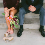 a quiet conversation between the maid of honor and the best man