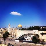 The Wailing Wall, Jerusalem.
