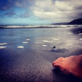 Feet in the Sand - Pacifica, California 2013