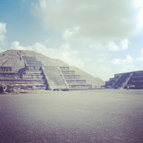 Pyramid of the Moon,Teotihuacan, Mexico