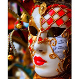 Colourful venice mask
