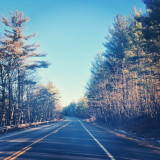 Driving on RT 28 in New York