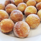 Doughnuts on plate