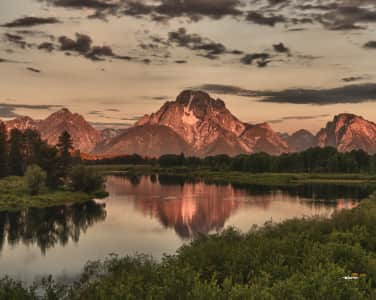 Grand Teton,  Wyoming,  USA, Oxbow Bend