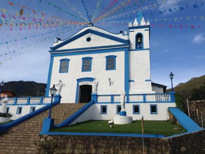 A church built in 1806 in the island of Ilhabela - Brazil