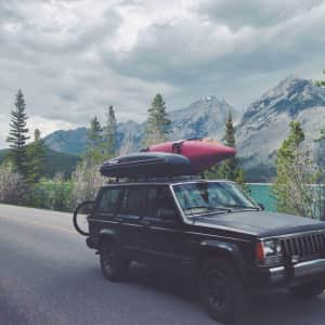 Make time to see the world. Take your family, take your dog...heck, go solo. Just go.  #banff