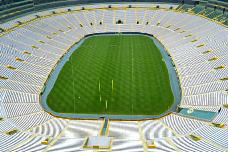 Lambeau Field in Green Bay Wisconsin, home of the Packers.