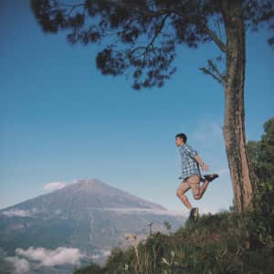 Take me higher  | taken by me at Pergasingan Hill, Lombok - indonesia
