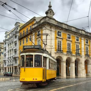 Lisbon Yellow Tram • Portugal