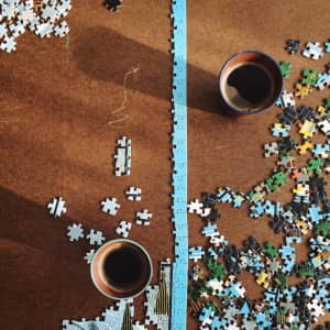 Morning puzzle session