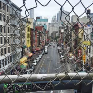 ChinaTown from Manhattan bridge NY