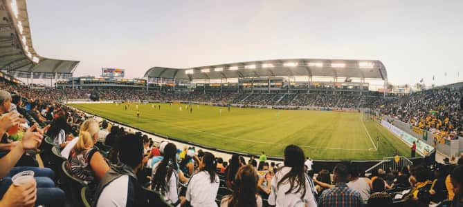 Soccer Game - LA Galaxy