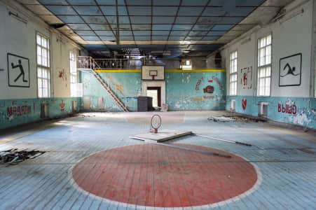 Abandoned school in berlin