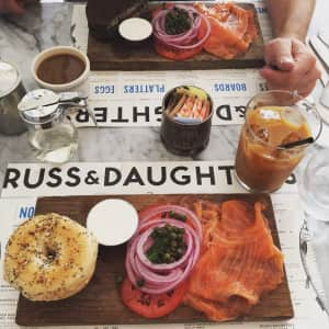 Authentic Jewish Lox Bagels in NYC