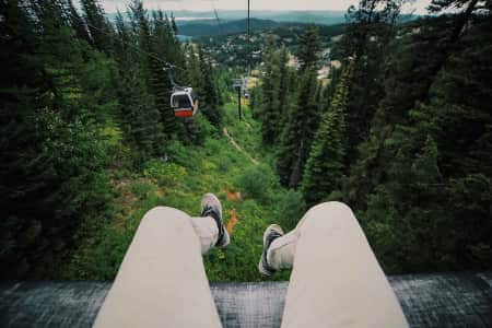 Big Mountain scenic gondola ride