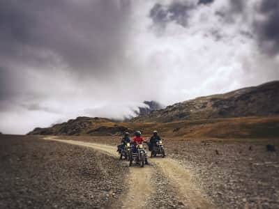 Riders on the storm!                         Chandra Taal (Moon Lake), Lahaul & Spiti, Himachal Pradesh, India.