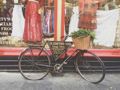 Famous Vintage Shop in Edinburgh, Scotland