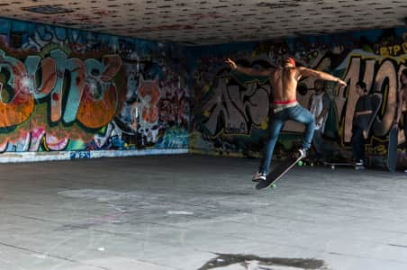 Southbank Skateboarder.