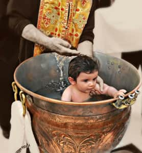 Greek Baptism