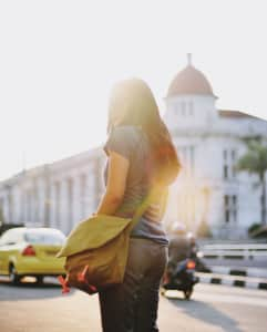 Afternoon at old city Jakarta