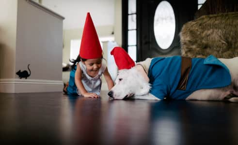 You and Me.....we're Gnomies fo' Life!